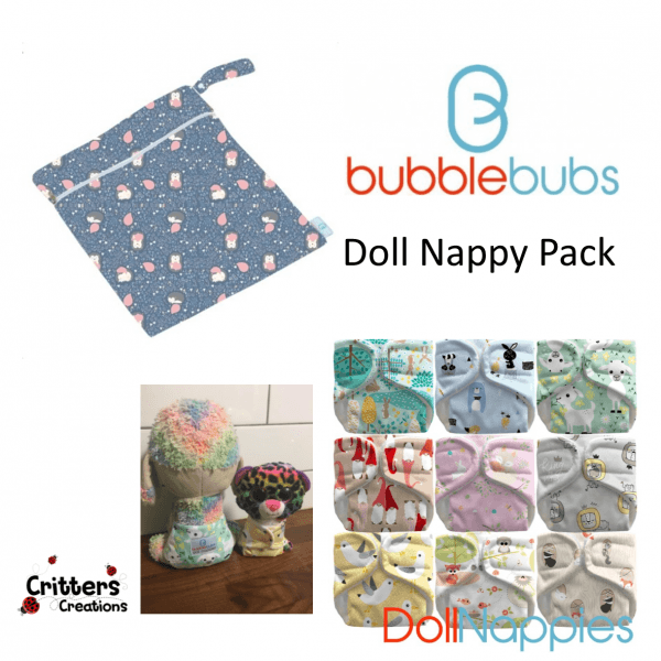 BB - Doll Nappy Pack