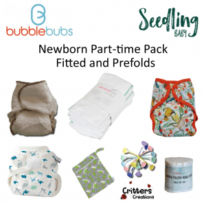 CC - Newborn Fitted and Prefolds