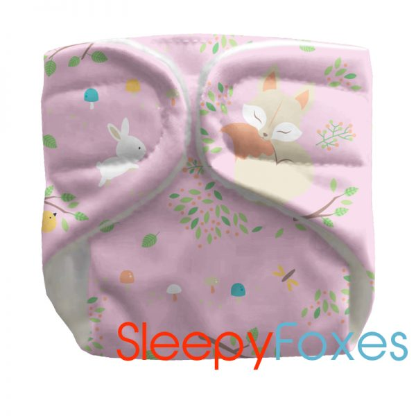 Doll nappies reusable-doll-nappies-sleepy-foxes