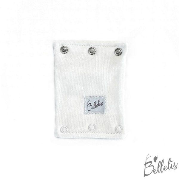 White bodysuit extender