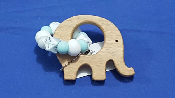 Duck Egg Blue, White & Marble Elephant