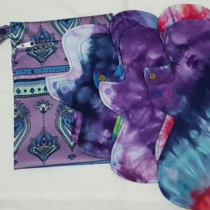 Cloth Pads Pack Purple