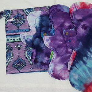 Cloth Pads Pack Purple
