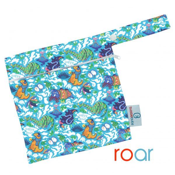 reusable-modern-cloth-nappy-mini-wetbag-roar