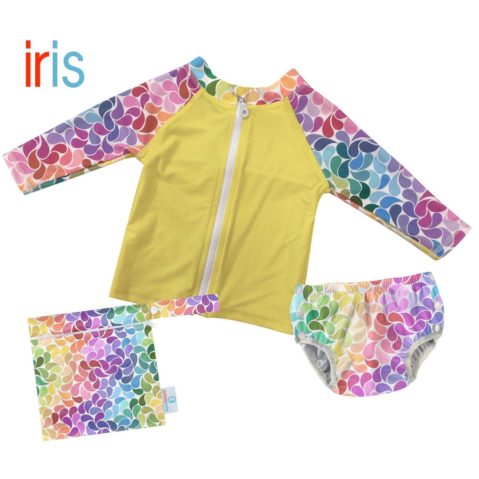 droplet-reusable-swim-cloth-nappy-with-wetbag-and-swim-vest-iris