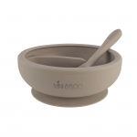 Cinnamon Section Suction Bowl New